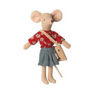 Maileg - 16-0744-00 - Mum mouse - Hauteur : 15 cm (455360)