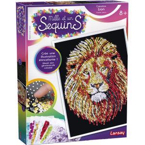 Lansay - 20350 - MILLE ET UN SEQUINS LION 8+ (455570)