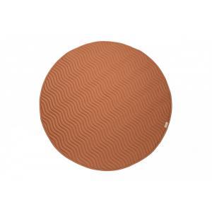 Nobodinoz - D16KIOWA/017 - Tapis de sol Kiowa Sienna brown (455698)