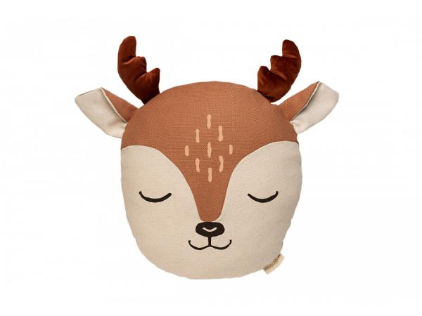 Coussin animaux daim