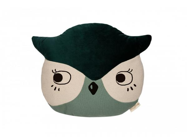 Coussin animaux hibou
