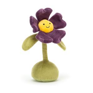 Jellycat - FLO6P - Flowerlette Pansy - L = 7 cm x l = 7 cm x H =21 cm (455756)