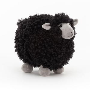 Jellycat - ROL6SB - Rolbie Sheep Black Small - l = 13 cm x H =15 cm (455814)