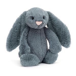 Jellycat - BAS3DUSKB - Bashful Dusky Blue Bunny Medium - l = 12 cm x H =31 cm (455842)