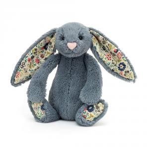 Jellycat - BL6DUSK - Blossom Dusky Blue Bunny Small - l = 9 cm x H =18 cm (455856)