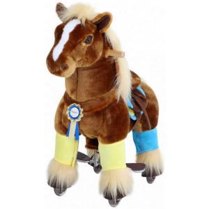 Ponycycle - K32 - Ponycycle Cheval Brun a monter Petit modele - Gamme Premium - Age 3-5 ans (455876)