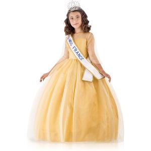 Upyaa - 430450 - Miss France Prestige Or 11-12 ans sous housse organza avec cintre satin (456078)