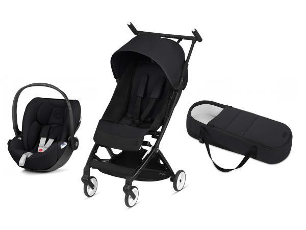 Poussette compacte libelle et siège auto cloud z i-size deep black