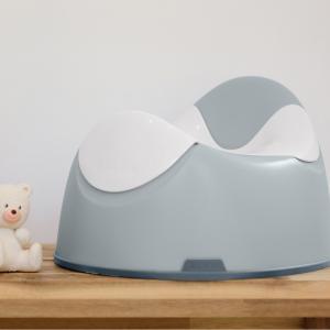 Beaba - 920356 - Pot pour bébé ergonomique Gris Clair (456314)