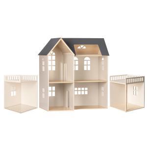 Maileg - BU043 - Maison de poupée, avec salle de bain et salle bonus (456336)
