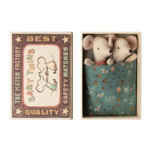 Maileg - BU045 - Poupée bébé souris avec nacelles (456340)