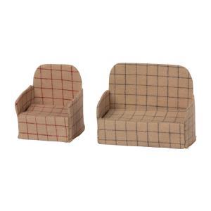 Maileg - BU046 - Canapé et chaise pour poupée (456342)
