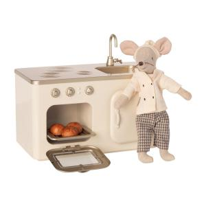Maileg - BU047 - Cuisine miniature avec poupée chef (456344)