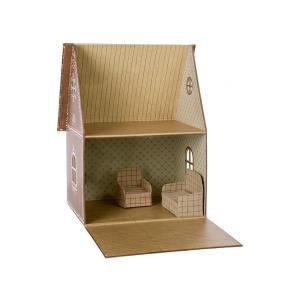 Maileg - BU052 - Maison miniature, canapé et chaise poupée (456354)