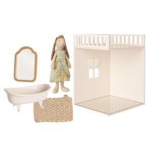 Maileg - BU054 - Set salle de bain miniature avec poupée princess (456358)