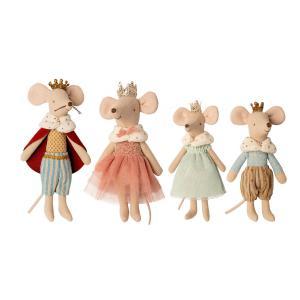 Maileg - BU063 - Set de poupées - famille souris - Roi, Reine, Princesse, Prince (456376)