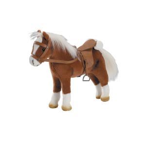 Gotz - BU15 - Cheval en peluche avec tenue cavalière (456404)
