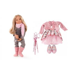 Gotz - BU24 - Poupée Emily 50 cm et vêtements roses (456422)