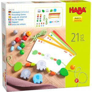 Haba - 305779 - Jeu de laçage Eléphants (456868)