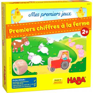 Haba - 305879 - Mes premiers jeux – Premiers chiffres à la ferme (456892)