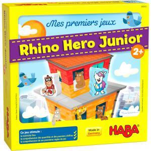 Haba - 305913 - Mes premiers jeux – Rhino Hero Junior (456894)