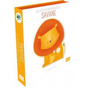 Sassi - 303942 - Livres sonores. Les petits habitants de la savane - âge conseillé : 3 ans (457006)