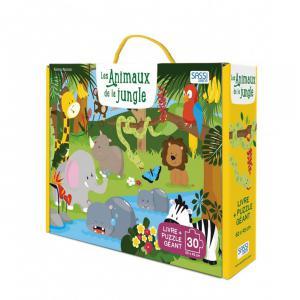 Sassi - 303546 - Puzzle géant - les animaux de la jungle - âge conseillé : 3 ans (457022)