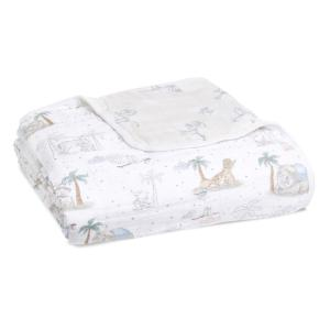 Dumbo - ADBC10014DI - Couverture de rêve dream blanket en mousseline de coton Disney Baby - My Darling Dumbo (457084)