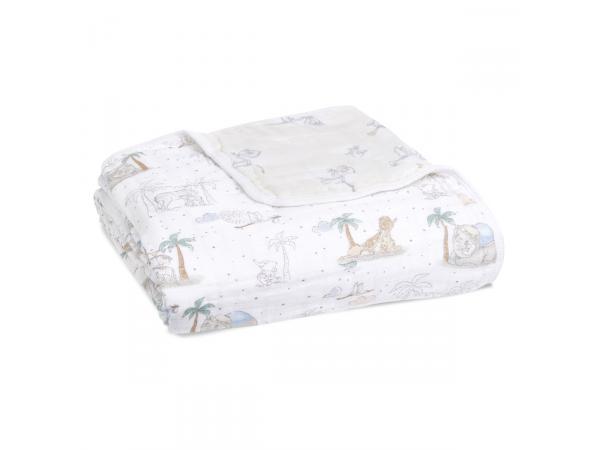 Couverture de rêve dream blanket en mousseline de coton disney baby - my darling dumbo
