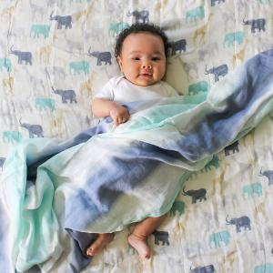 Aden and Anais - ADBS10004 - Couverture de rêve dream blanket silky soft expedition (457088)