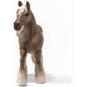 Schleich - 13914 - Figurine Jument silver - Dimension : 14,4 cm x 3,6 cm x 10,9 cm (457120)