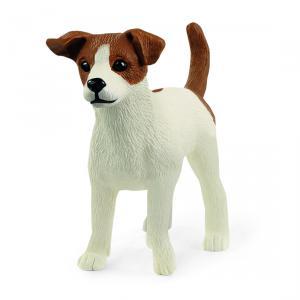 Schleich - 13916 - Figurine Jack Russell terrier - Dimension : 5,2 cm x 2,1 cm x 4 cm (457124)