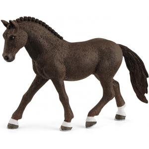 Schleich - 13926 - Figurine Poney de selle allemand hongre - Dimension : 12 cm x 3,8 cm x 8,5 cm (457144)