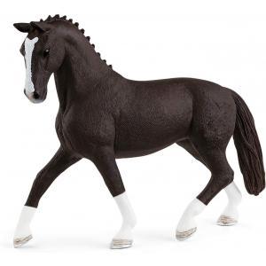 Schleich - 13927 - Figurine Jument hanovrienne morelle  - Dimension : 14 cm x 3,5 cm x 10,7 cm (457146)