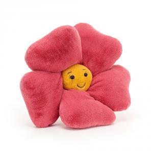 Jellycat - FLEU2P - Peluche fleur petunia Fleury - l = 35 x H = 35 cm (457404)