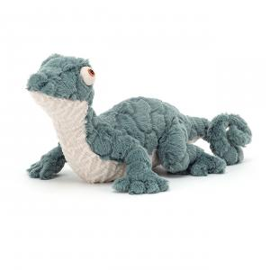 Jellycat - GOR2G - Peluche gecko Gorka - l = 19 x H = 15 cm (457450)