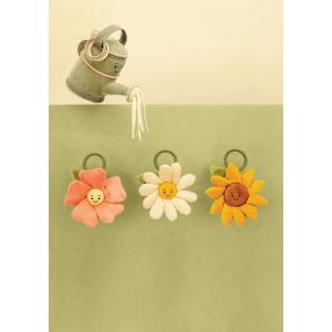 Jellycat - FLEU4SJ - Anneau peluche fleur tournesol Fleury - l = 14 x H = 27 cm (457576)
