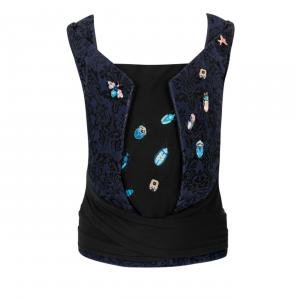 Cybex - 521000049 - Porte-bébé YEMA TIE Jewels of Nature-dark blue (457622)