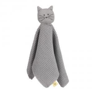 Lassig - 1313015108 - Doudou tricoté  Little Chums Chat (457652)