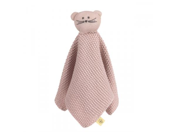 Doudou tricoté little chums souris