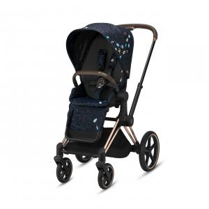Cybex - BU529 - Poussette Priam  rosegold Jewels of Nature (458392)