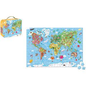 Janod - J02656 - Puzzle geant du monde - 300 pcs (458570)