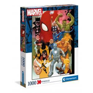Clementoni - 39612 - Puzzle 1000 pièces - Marvel 80° (460074)