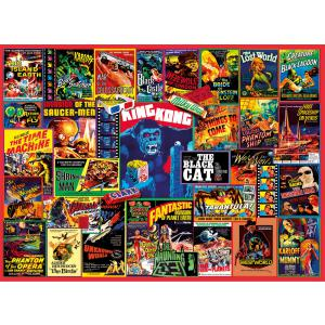 Clementoni - 39602 - Puzzle 1000 pièces - Thriller Classics (460082)