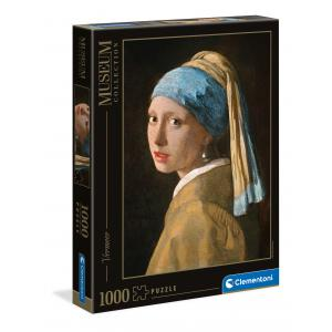 Clementoni - 39614 - Puzzle Museum 1000 pièces - Girl with Pearl E.V. (460128)