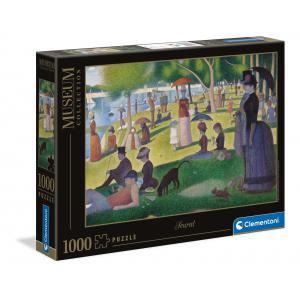 Clementoni - 39613 - Puzzle Museum 1000 pièces - Sunday on la Grande J.S. (460132)