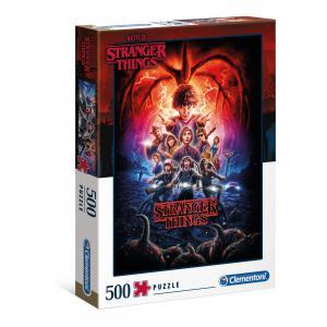 Clementoni - 35087 - Puzzle Stranger Things - 500 pièces (460154)