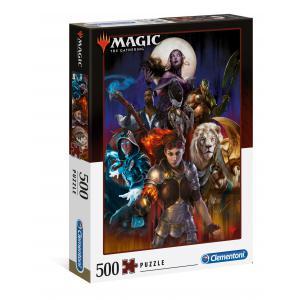 Clementoni - 35089 - Puzzle Magic the Gathering - 500 pièces (460162)