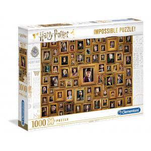 Clementoni - 61881 - Puzzle Harry Potter - Impossible 1000 pièces (460180)