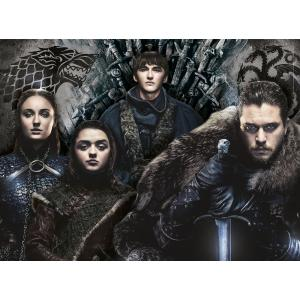 Clementoni - 35091 - Puzzle Game of Thrones - 500 pièces (460218)